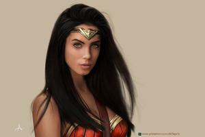 Marlen Valderrama Alvarez As Wonder Woman Fanart