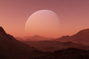 Mars Planet 5k Wallpaper