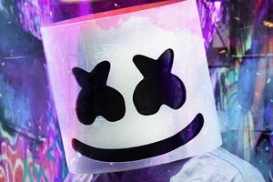 Marshmello 2020 Mask 4k Wallpaper
