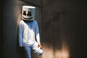 Marshmello Alone Wallpaper