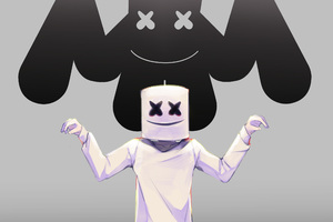 Marshmello Dj Artwork Wallpaper