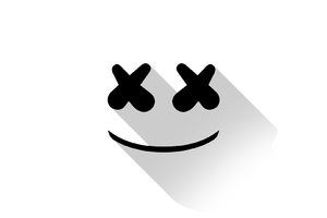Marshmello DJ Material Design Logo Wallpaper
