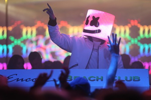Marshmello Famous Dj Wallpaper
