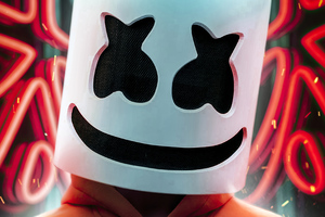 Marshmello Hoodie Jacket Wallpaper