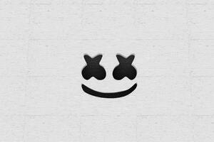 Marshmello Logo 2020 4k Wallpaper