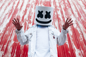 Marshmello Press Photoshoot Wallpaper
