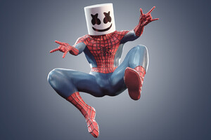 Marshmello Spiderman