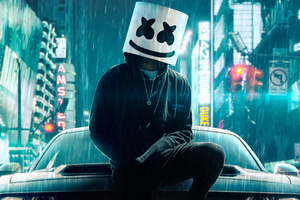 Marshmello Undercover 4k Wallpaper