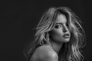 Martha Hunt Monochrome
