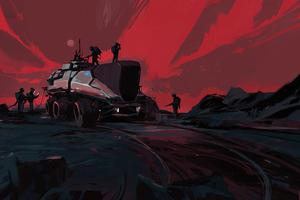 Martians 4k Wallpaper
