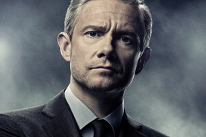 Martin Freeman In Black Panther Movie Poster