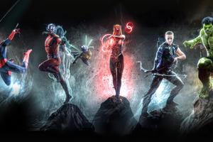 Marvel 4k Artwork