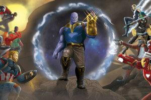 Marvel Avengers Infinity War Fan Art