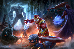 Marvel Avengers Vs Dc Justice League