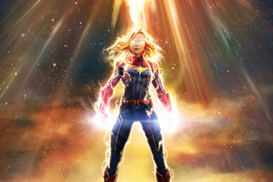 Marvel Captain Marvel Wallpaper