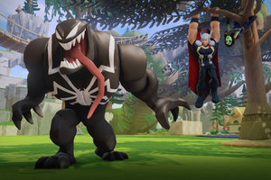 Marvel Disney Infinity Venom And Thor 4k