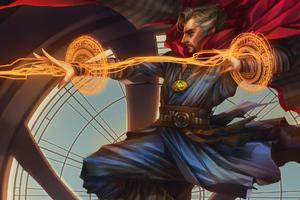 Marvel Doctor Strange Artwork