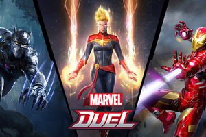 Marvel Duel 4k Wallpaper