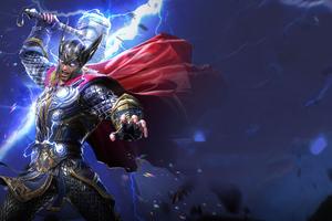 Marvel Duel Thor 4k Wallpaper