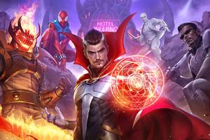 Marvel Future Fight 2020 4k