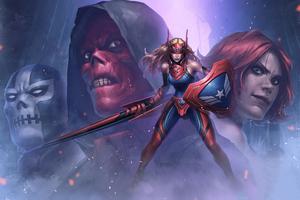 Marvel Future Fight 4k Wallpaper