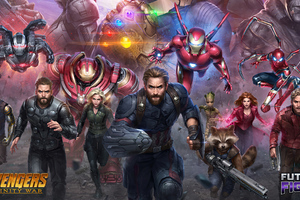 Marvel Future Fight Avengers Infinity War