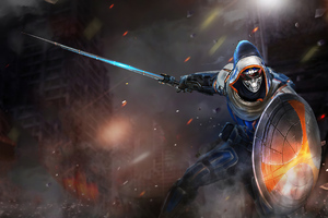Marvel Future Fight Taskmaster 4k Wallpaper