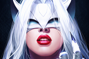 Marvel Future Fight White Fox Wallpaper