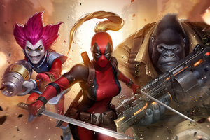 Marvel Future Fight X Force Wallpaper