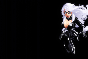 Marvel Girl Black Cat 4k Wallpaper