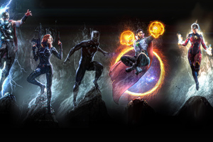 Marvel Heroes 4k Art Wallpaper