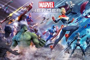 Marvel Heroes 5k 2018