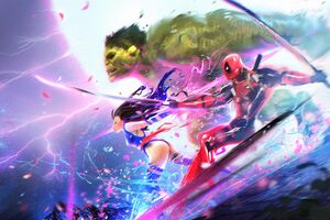 Marvel Heroes Art Wallpaper