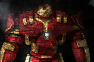 Marvel Hulkbuster Wallpaper