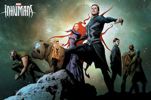 Marvel Inhumans Artwork Poster Wallpaper