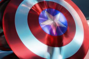 Marvel Legends Captain America Shield Wallpaper