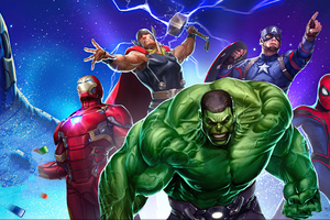Marvel Puzzle Quest 2020 4k Wallpaper