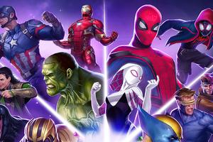 Marvel Puzzle Quest 2020 Wallpaper
