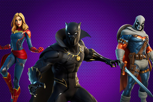 Marvel Royalty And Warriors Fortnite