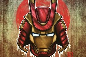 Marvel Samurai Iron Man Wallpaper