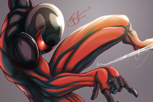 Marvel Scarlet Spider Wallpaper
