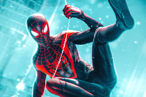 Marvel Spider Man Miles Morales 2020 Wallpaper
