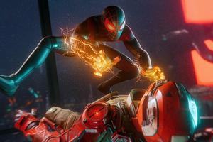 Marvel Spider Man Miles Morales 4k
