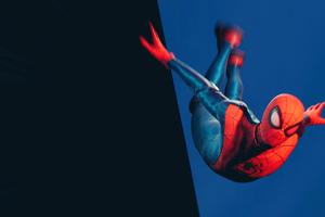 Marvel Spider Man Miles Morales Jumping 4k Wallpaper
