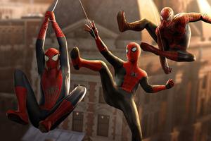 Marvel Spider Man No Way Home 4k Wallpaper