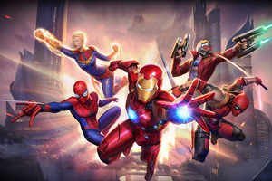 Marvel Super War Wallpaper