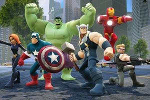Marvel The Avengers Disney Infinity Wallpaper