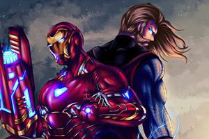 Marvel Trinity Wallpaper