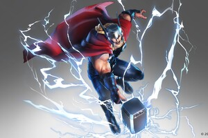 Marvel Ultimate Alliance 3 2019 Thor Wallpaper