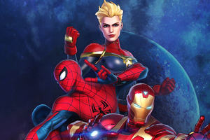 Marvel Ultimate Alliance 3 The Black Order Wallpaper